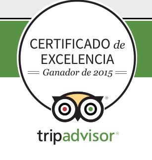 La Torre Tavira galardonada con el Certificado de Excelencia de TripAdvisor!