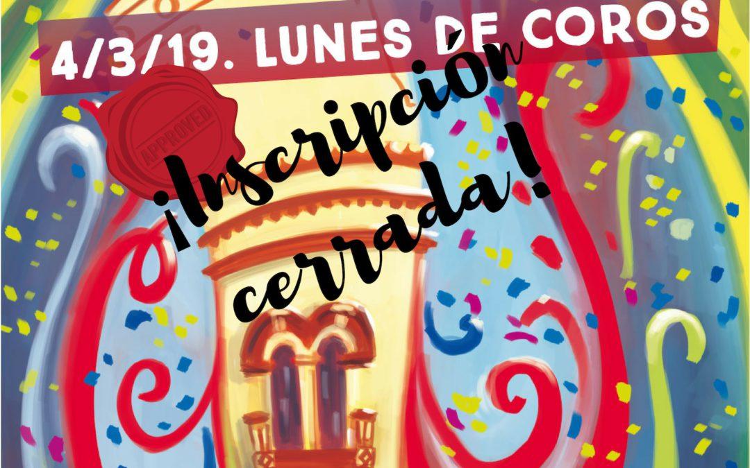 Actualización Concurso Coplas. CERRADO plazo de inscripción.
